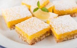 Healthy Lemon Bar- Raw and Gluten Free   Foodal.com