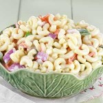 Macaroni Salad Recipe - Using up those leftover Easter eggs | Foodal.com