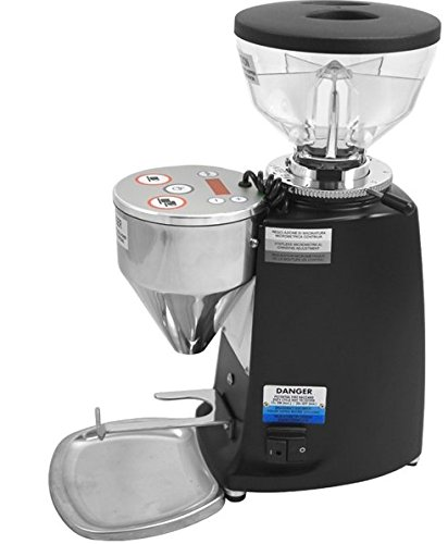 Mazzer Mini Electronic Coffee Grinder Type A Doserless in Black
