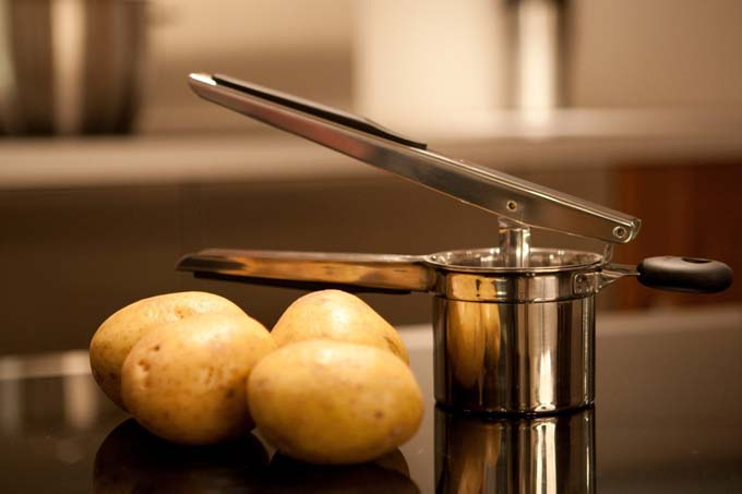 OXO Good Grips Potato Ricer | Foodal.com