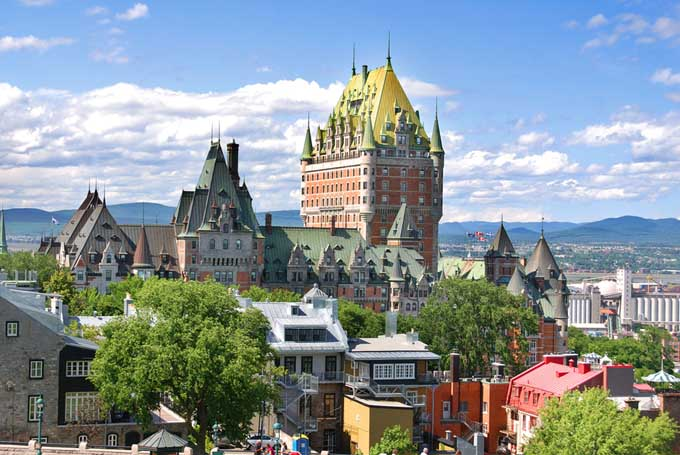 Old Quebec and the Château Frontenac - Canada | Foodal.com
