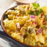 Potato Salad - What to Do WIth Left Over Easter Eggs