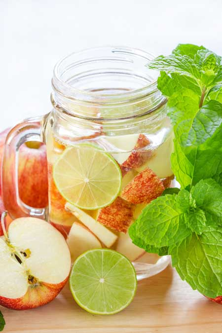 Apple Infused Fruit Water | Foodal.com