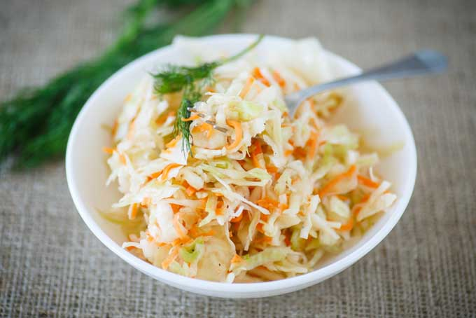 Asian Coleslaw Recipe | Foodal.com