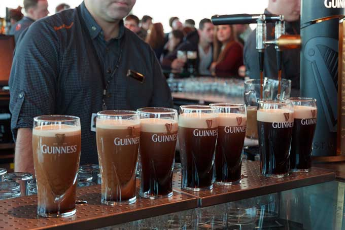 Beer at the Guinniess Factory | Foodal.com