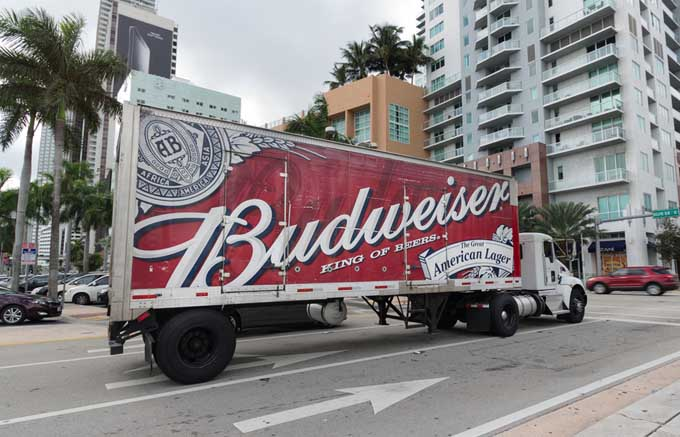 Budweiser Truck | Foodal's Guide To Beer