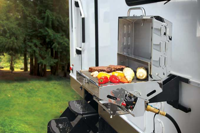 Camco - The Best Portable Gas Grill for RV use | Foodal.com
