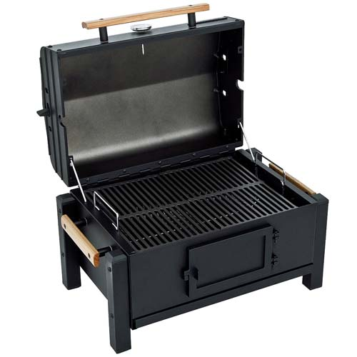 Top 10 best rated portable charcoal bbq grills 2016 foodal - Table top barbecue grill ...