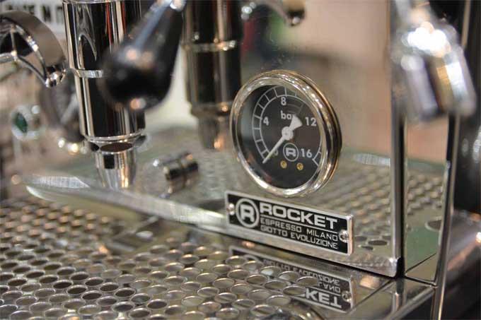 Rocket Evoluzione V2 Giotto Espresso Machine Controls | Foodal.com