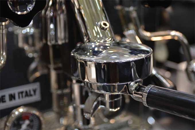 Rocket Evoluzione V2 Giotto Espresso Machine Porta Filter | Foodal.com
