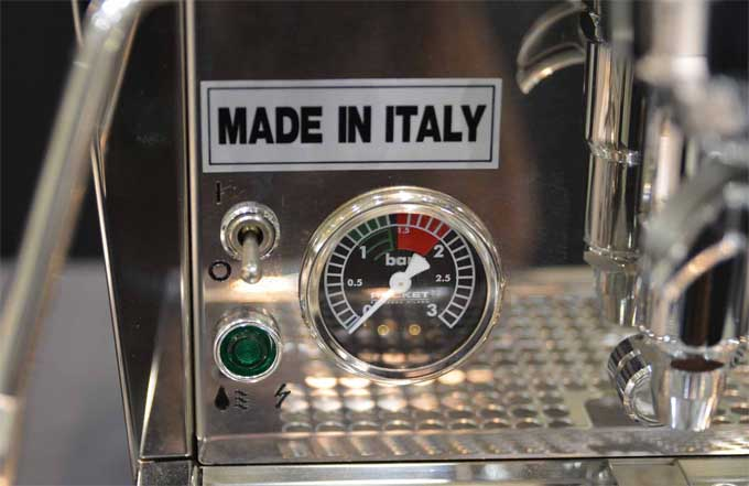 Evoluzione V2 Giotto Pressure Guage | Foodal.com