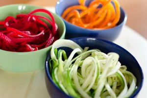 Make Healthy Vegetable Noodles With A Spiralizer