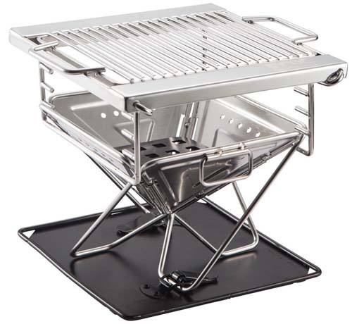 Folding Stainless Steel Quick Grill