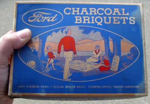 Ford Charcoal Briquets | Foodal.com