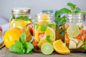 Hydrate With Refreshing Fruit Infused Water