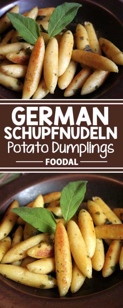 Authentic German Schupfnudeln Potato Dumplings