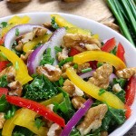 Kale Greens with Peppers and Apple Recipe | Foodal.com
