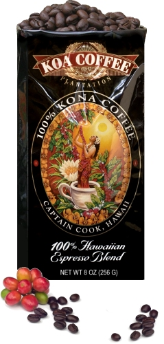 Koa Coffee's Hawaiian Espresso