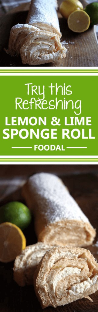 Have you been searching for a fresh and fruity dessert which is simple to make and is not too sugary? This unique sponge roll is what you're searching for. Indulge your sweet tooth with a light pastry that has a fantastic creamy filling with a touch of lemon coated in a light and fluffy sponge.