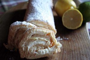 Refresh Yourself With This Lemon and Lime Sponge Roll