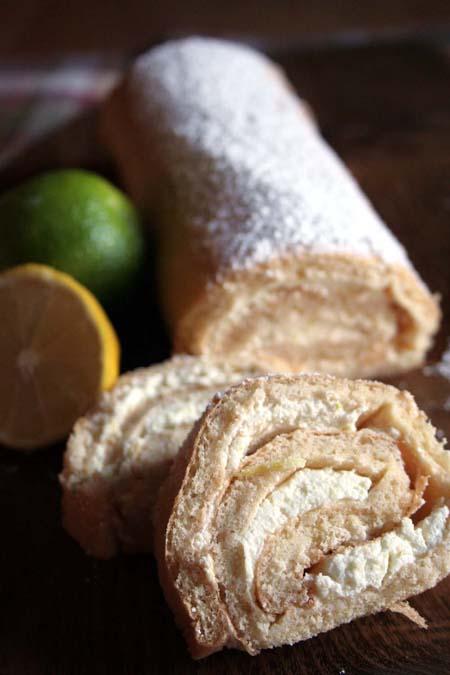 Lemon and Lime Roll Recipe   Foodal.com