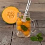Melonenbowle mit Birne Recipe
