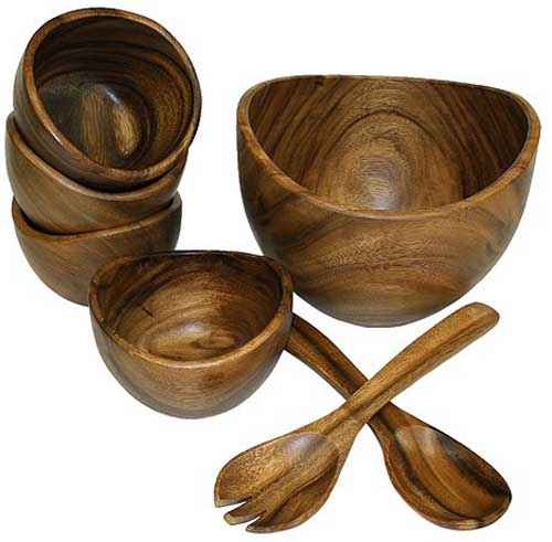 The Best Wooden Salad Bowls Reviewed In