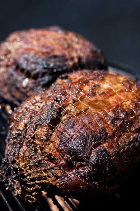 Pork shoulder on a smoker   Foodal.com