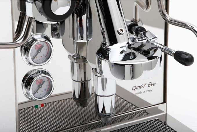 Quick Mill QM67 EVO Double Boiler Group Head