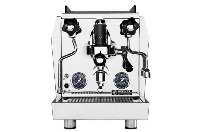Review of the Rocket Giotto Evoluzione V2 (HX) Espresso Machine | Foodal.com