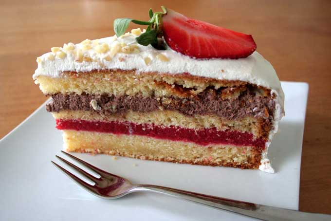 Strawberry Layer Cake Recipe | Foodal.com