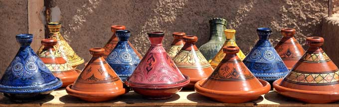 Moroccan Tagine Earthen Cooking Vessels