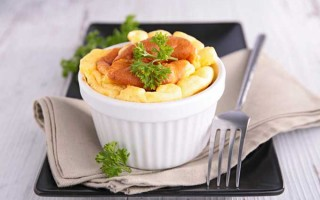 Light & Fluffy Cheese Soufflé