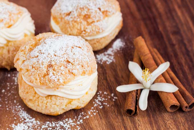 very basic cream puff, perfect for the beginner. These can be made ...