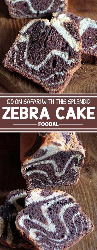 Do you love marble cake but have always wanted a dessert more unique? Something not everyone has at their luncheon? Try this easy-to-make zebra cake now!