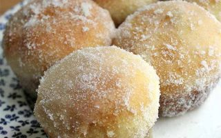 Buttery Baked Doughnuts with Fruit Filling