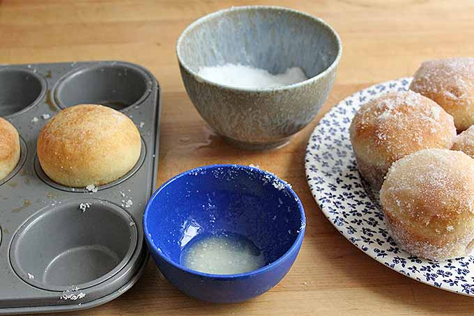 Coating Baked Donuts with Sugar | Foodal.com