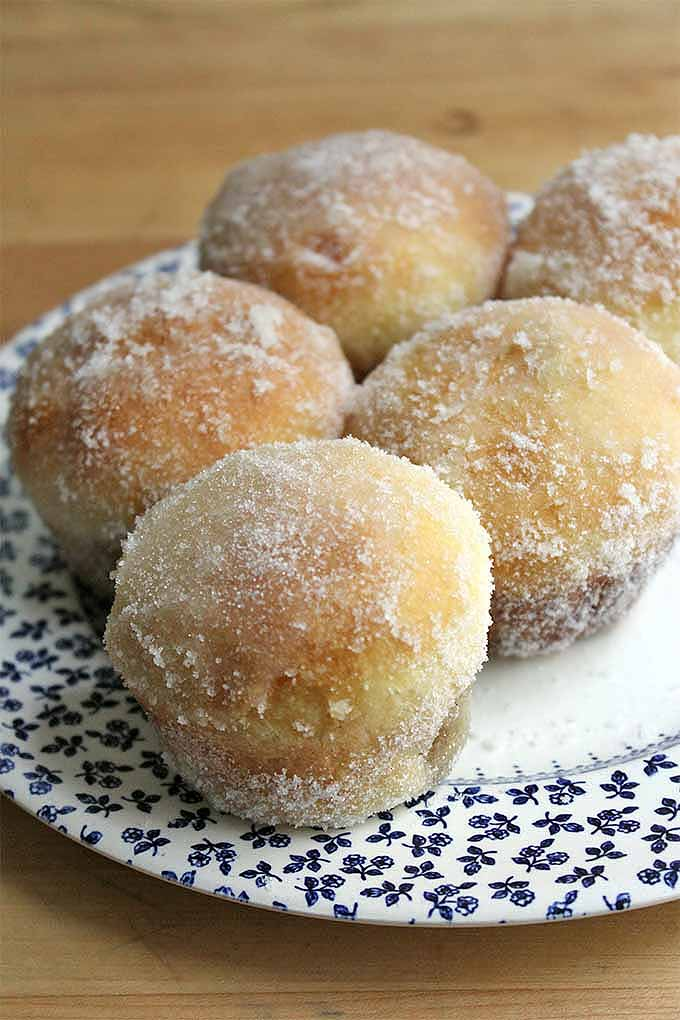 Buttery baked brioche donuts can be yours, with our delectable recipe: https://foodal.com/recipes/breakfast/baked-doughnuts/