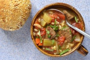 Granddad's Beef and Barley Soup