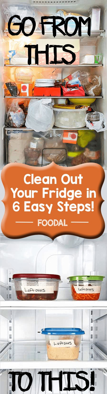Do you have a refrigerator or freezer that's completely out of hand? Trying to figure out how to get rid of that old and outdated food and keep everything organized? Read these tips to help you out.