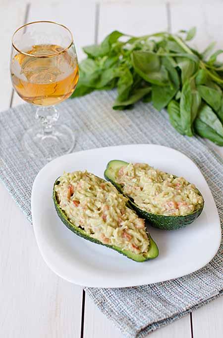 Crab and Mango Stuffed Avocado Halves - Recipe | Foodal.com