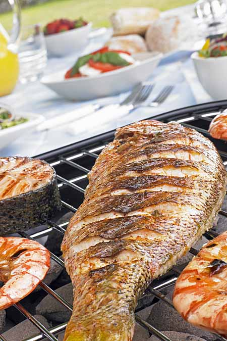 Try grilling some fish rather than red meat for a healthier meal | Foodal.com