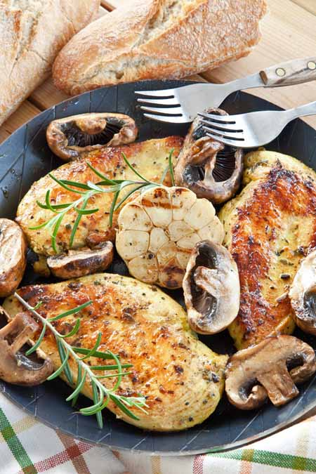 Garlic and Herb Chicken Breast Recipe | Foodal.com