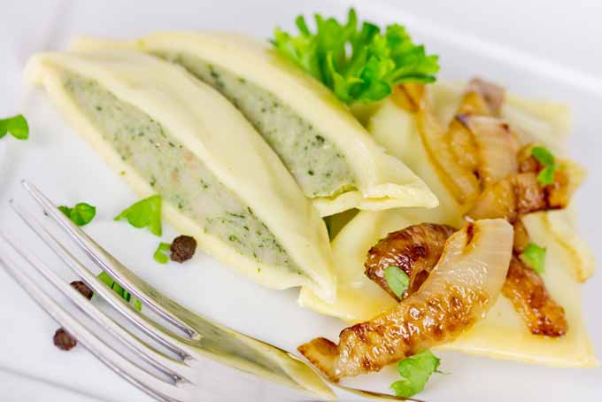 German Swabian Maultaschen Pocket Ravioli Recipe   Foodal.com