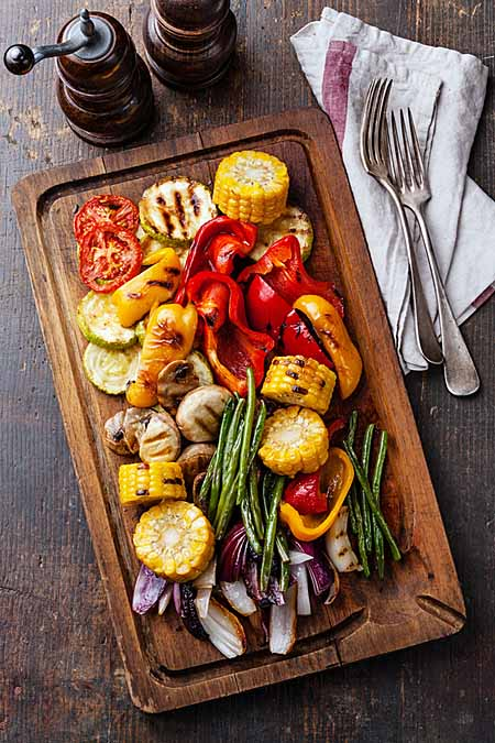 Grill more vegetables for healthier BBQ | Foodal.com