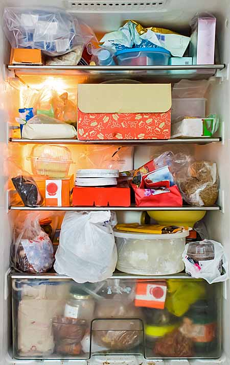 Messy Refrigerator | Foodal.com