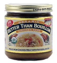 Chicken bouillon vs chicken broth