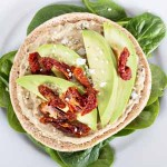 Recipe for Vegan Sandwich With Hummus, Avocado, and Sun Dried Tomatoes | Foodal.com