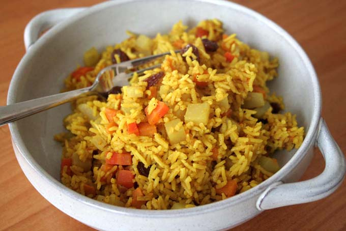 Recipe for Vegan Sweet Potato Pilaw   Foodal.com