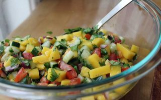 Dip Your Chips in This Spicy & Refreshing Mango Salsa